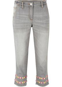 3/4 Jeans mit Komfortbund