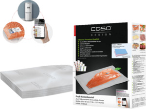 CASO 1220 30x40 Folienbeutel Transparent