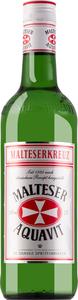 Malteserkreuz Aquavit    - Obstbrand, Dänemark, trocken, 1l