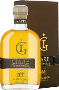Marzadro Le Giare Grappa Affinata Chardonnay 0,2L in Gp   - Grappa, Italien, trocken, 0.2000 l