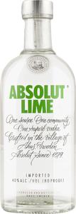Absolut Lime Vodka mit Limette Country of Sweden    - Vodka, Schweden, trocken, 1l