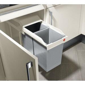 Einbau-Abfalleimer Multi-Box, 2x15 Liter, Hailo
