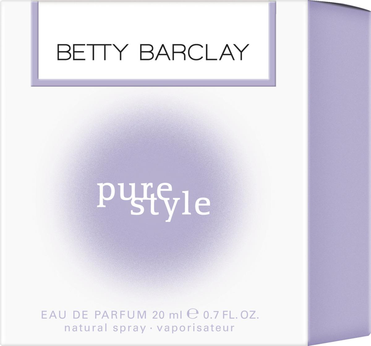 Bild 2 von Betty Barclay pure style              Eau de Parfum