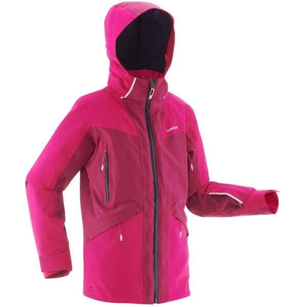 Skijacke Piste 900 Kinder rosa/violett