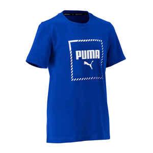 T-Shirt Regular Kinder königsblau
