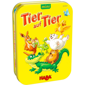 HABA 305907 Tier auf Tier mini