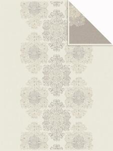 Decke Bagheria in Weiß/Beige ca. 150x200cm