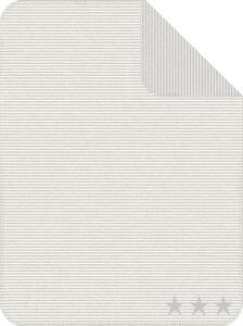 Decke Lelu in Grau/Weiß ca. 75x100cm