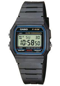 Casio Collection Chronograph »F-91W-1YEG«