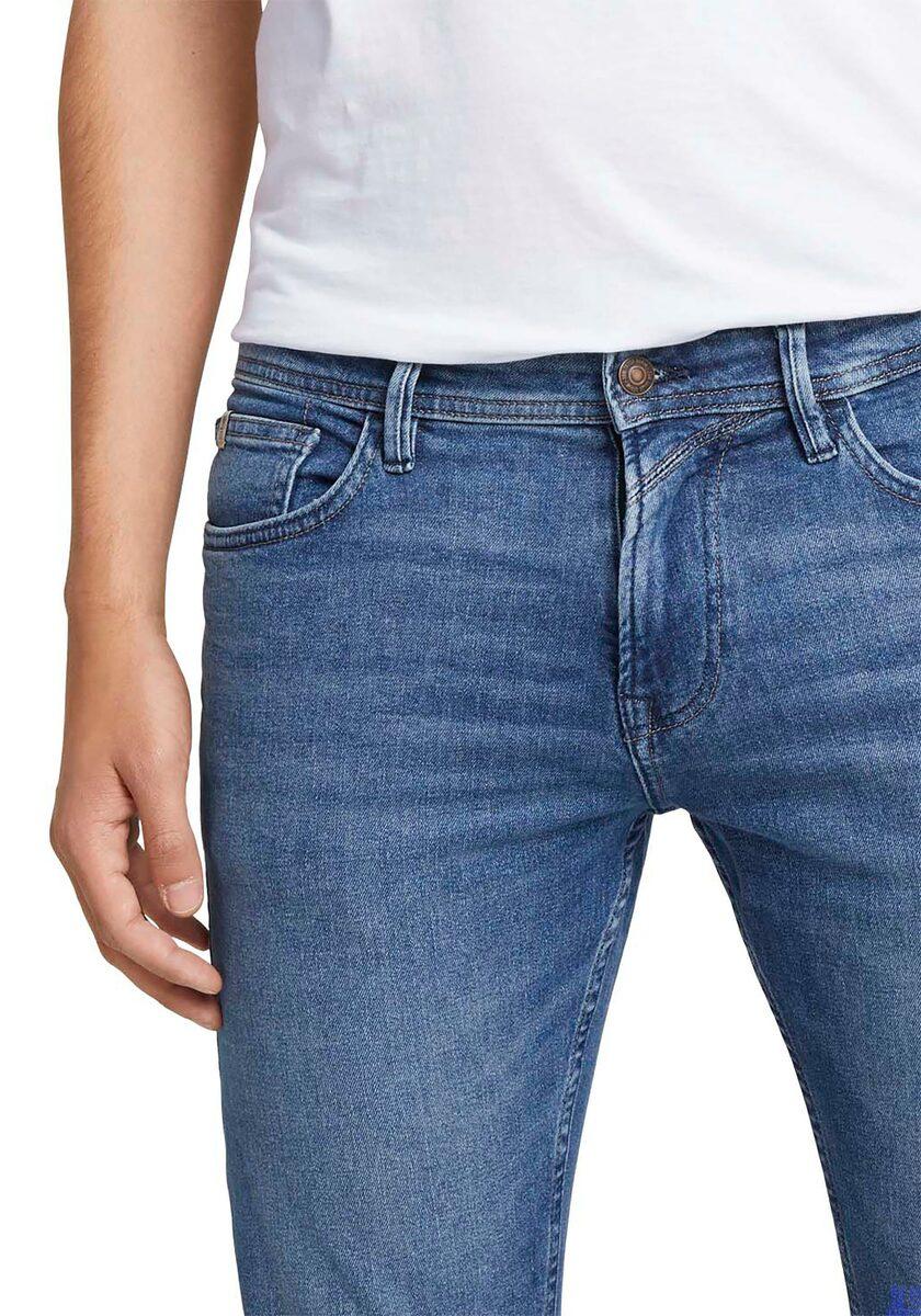 Bild 2 von TOM TAILOR Denim 5-Pocket-Jeans mit Leder-Badge