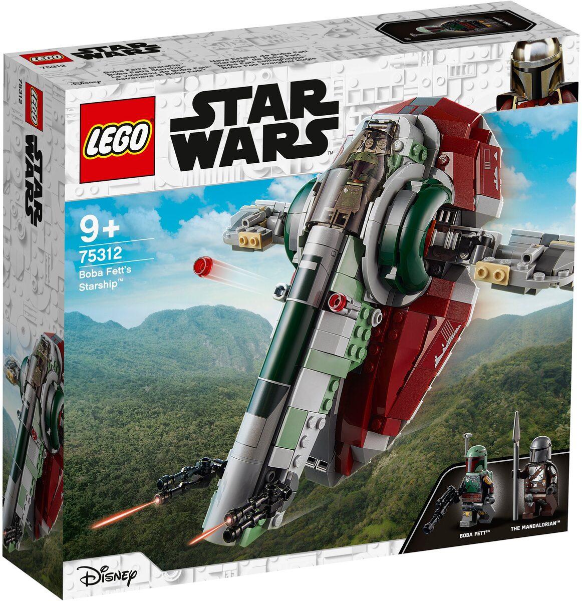 Bild 1 von LEGO® Konstruktionsspielsteine »Boba Fetts Starship™ (75312), LEGO® Star Wars™ Mandalorian«, (593 St), Made in Europe