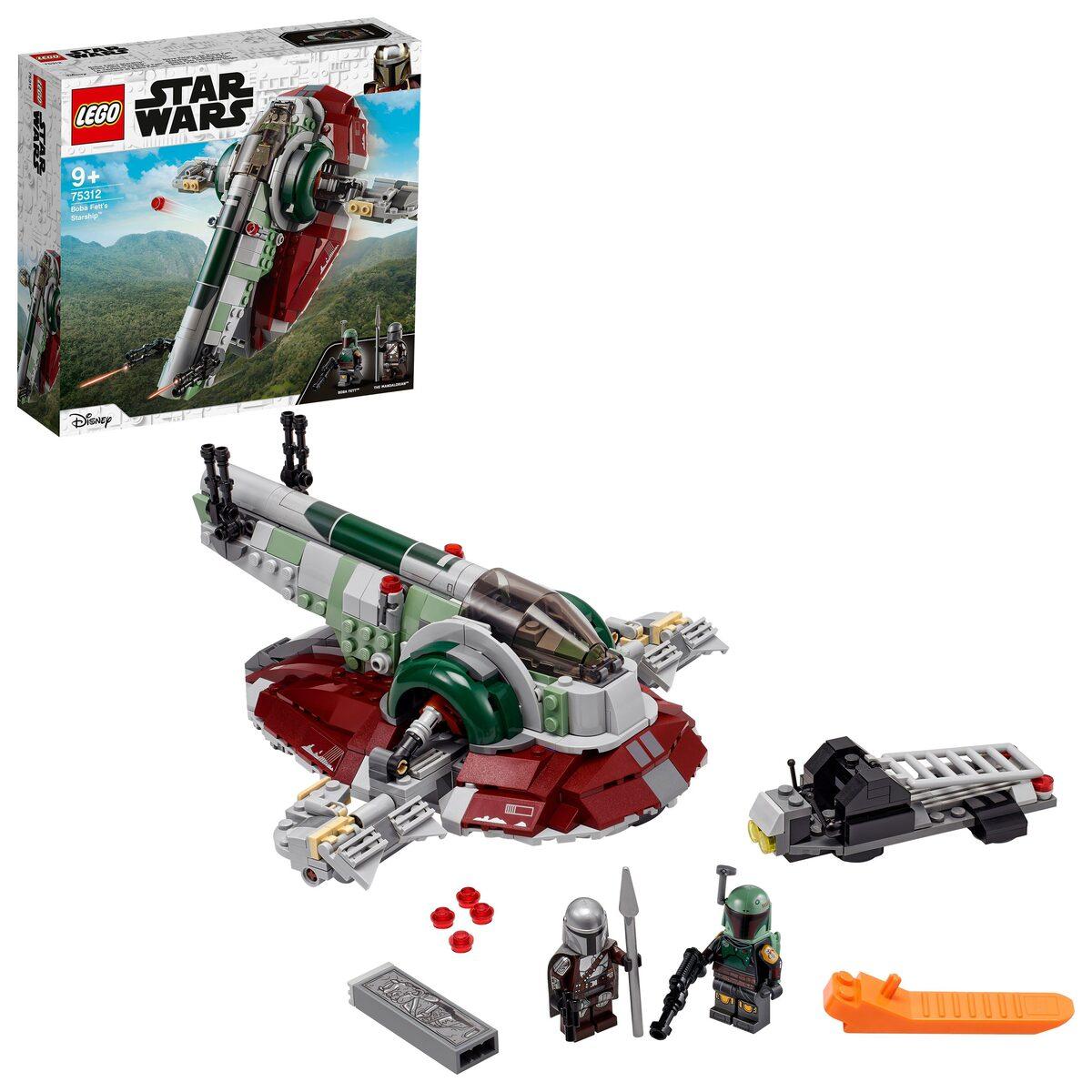 Bild 2 von LEGO® Konstruktionsspielsteine »Boba Fetts Starship™ (75312), LEGO® Star Wars™ Mandalorian«, (593 St), Made in Europe