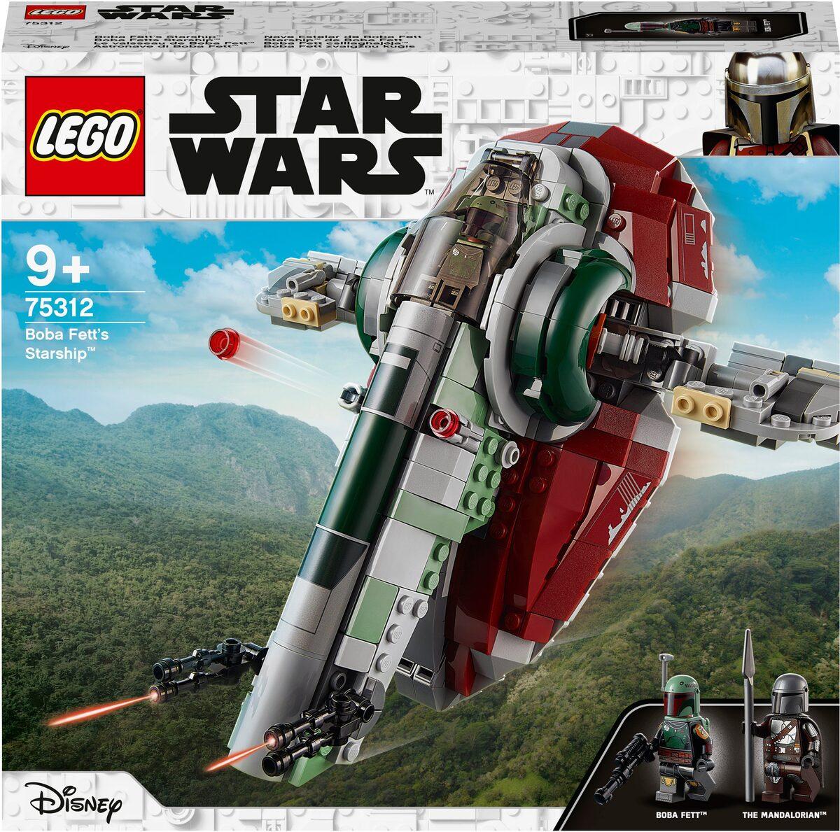 Bild 4 von LEGO® Konstruktionsspielsteine »Boba Fetts Starship™ (75312), LEGO® Star Wars™ Mandalorian«, (593 St), Made in Europe
