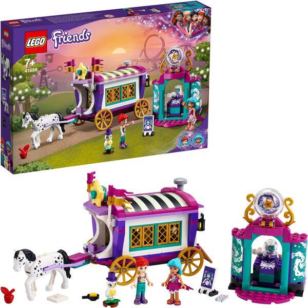 LEGO® Konstruktionsspielsteine »Magischer Wohnwagen (41688), LEGO® Friends«, (348 St), Made in Europe