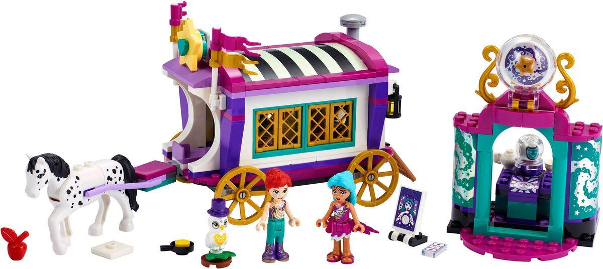 Bild 2 von LEGO® Konstruktionsspielsteine »Magischer Wohnwagen (41688), LEGO® Friends«, (348 St), Made in Europe