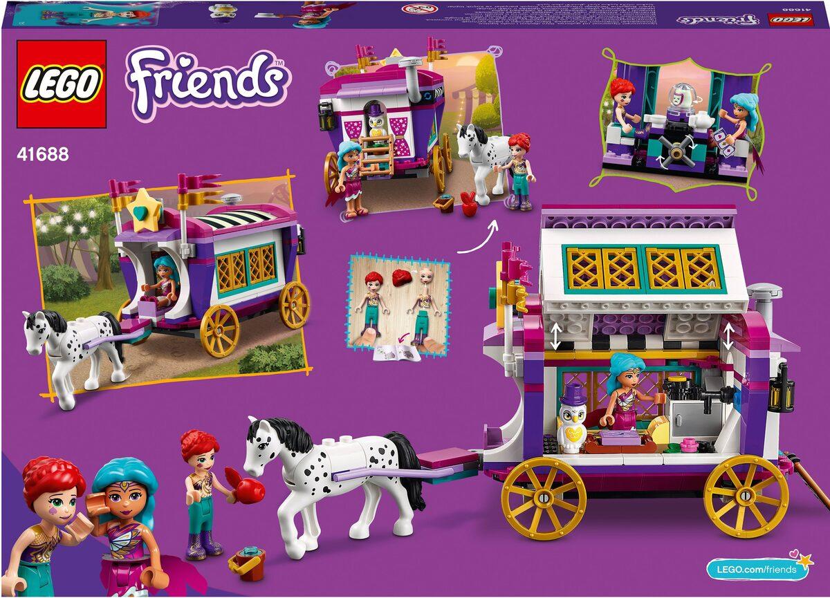 Bild 5 von LEGO® Konstruktionsspielsteine »Magischer Wohnwagen (41688), LEGO® Friends«, (348 St), Made in Europe