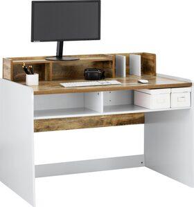 OTTO products Schreibtisch »Jaaron«, Breite 120 cm, 7 offene Fächer