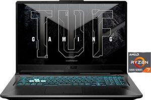 Asus TUF Gaming A17 FA706QM Gaming-Notebook (43,9 cm/17,3 Zoll, AMD Ryzen 7, GeForce RTX 3060, 512 GB SSD)