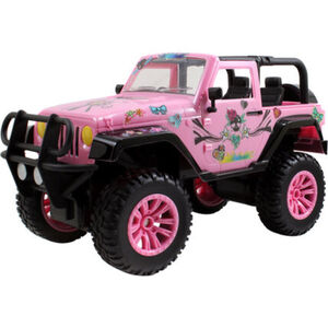 "Dickie Toys Ferngesteuertes Auto, RC ""Driverz Jeep Wrangler"", 30 cm"