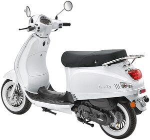 Luxxon Motorroller »Emily«, 50 ccm, 45 km/h, Euro 5
