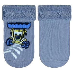 My Baby Lou Babysöckchen 2-er pack  Socken-Silikonmuster  Blau