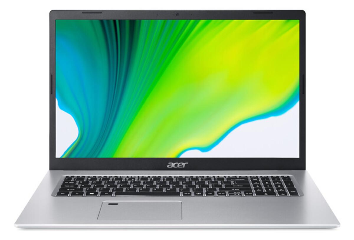 Bild 1 von ACER Aspire 5 (A517-52-3247) Notebook (17,3 Zoll Full-HD IPS (matt), i3-1115G4, 8 GB RAM, 512 SSD, Intel UHD Graphics, Windows 10 Home, Kensington Schloss)