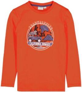Langarmshirt  orange Gr. 104/110 Jungen Kleinkinder
