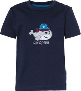 Baby T-Shirt , Piraten dunkelblau Gr. 68 Jungen Baby
