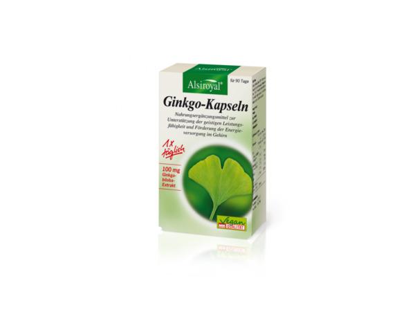 Alsiroyal Ginkgo-Kapseln 30 Kapseln