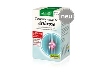 Alsiroyal Curcumin spezial bei Arthrose 90 Kapseln