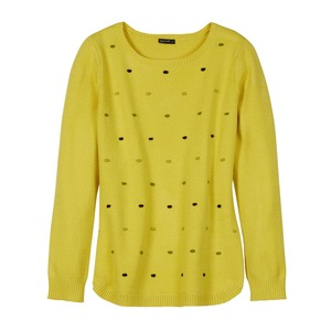 Damen-Pullover mit Punktedesign