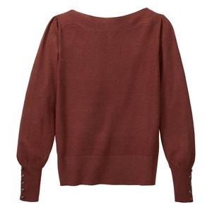 Damen-Pullover mit U-Boot-Ausschnitt