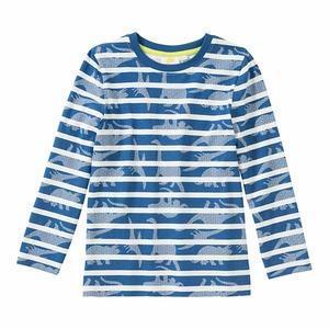 Jungen-Shirt mit Dino-Muster