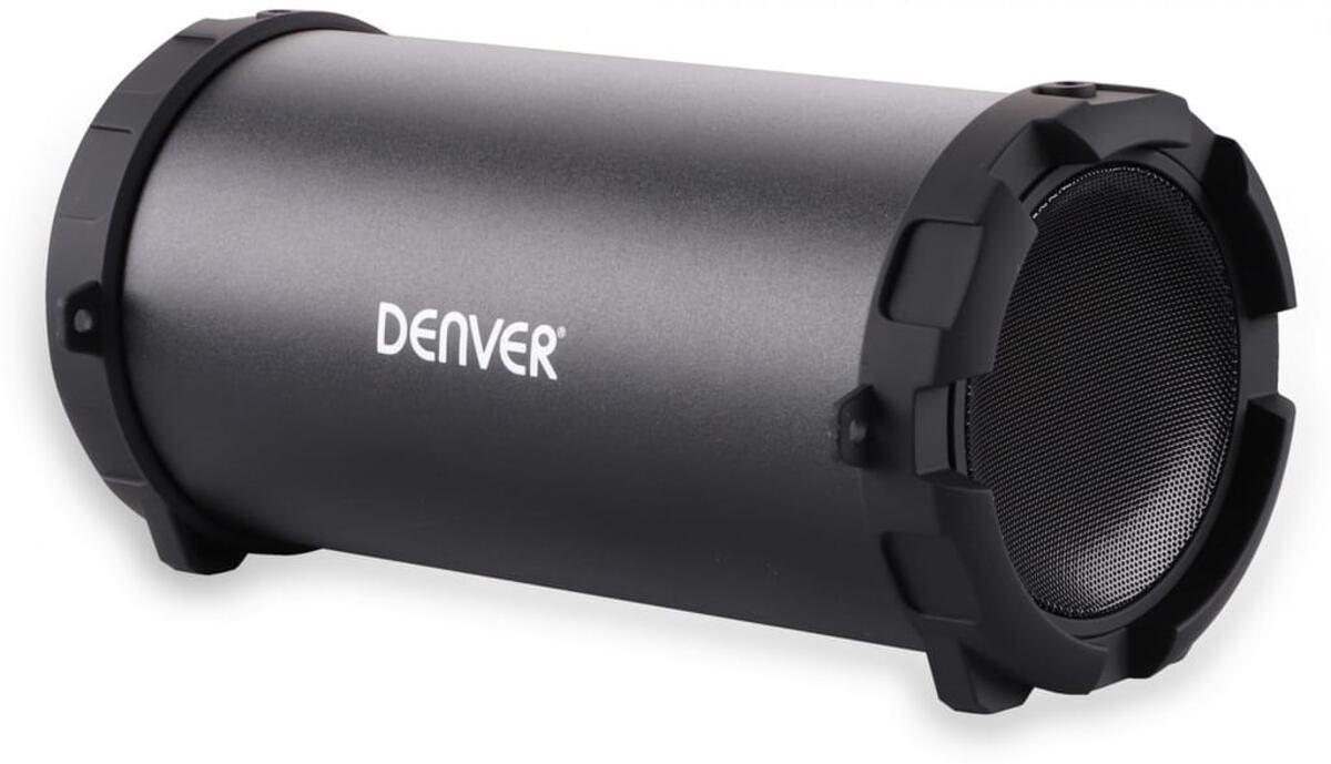 Bild 1 von Denver Bluetooth Lautsprecher BTS-53 Schwarz   3000 mAh Akku   Tragegurt