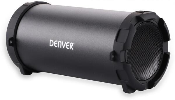 Denver Bluetooth Lautsprecher BTS-53 Schwarz   3000 mAh Akku   Tragegurt