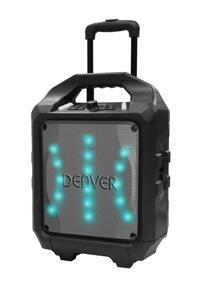 Denver Electronics Mobiler PA Lautsprecher TSP-505, Farbe: Schwarz
