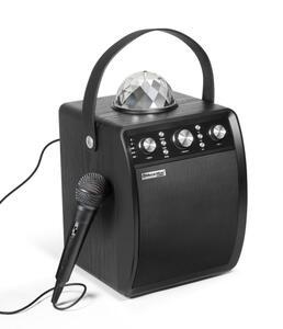 MusicMan Disco Lautsprecher mit Mikrofon BT-X53