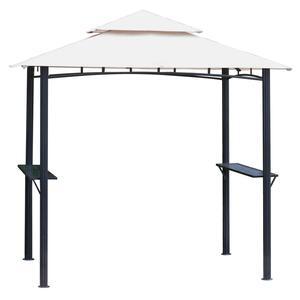 Tepro Grillpavillon, (BxTxH) 246 x 154 x 255 cm, Standbeine aus Stahl, weiß/schwarz; 3109