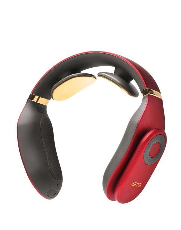 SKG Nackenmassagegerät ,4098E-R, rot