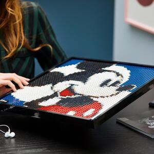 LEGO 31202 Art Disney's Mickey Mouse Set, Poster, Wanddekoration, DIY Puzzle für Erwachsene