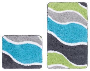 Obsession Teppich Runway 205 Aqua WC Set 55x90/55x45 cm