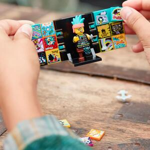LEGO 43103 VIDIYO Punk Pirate BeatBox Music Video Maker Musik Spielzeug für Kinder, AR App Set mit Piraten Minifigur