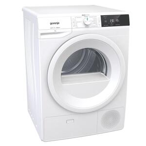 GORENJE DE82G Wärmepumpentrockner, 8 kg, Weiß, , XL-Tür
