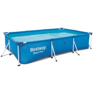 Steel Pro™ Frame Pool ohne Pumpe, eckig, 300 x 201 x 66 cm