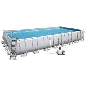 Bestway Power Steel™ Frame Pool Komplett-Set, eckig, 956x488x132cm, 56623