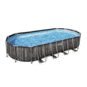 Bestway Power Steel™ Frame Pool Komplett-Set, oval, 732x366x122cm, 5611T