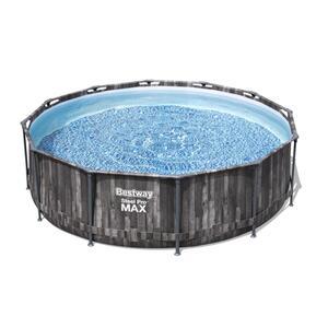 Bestway Steel Pro Max™ Frame Pool Komplett-Set, rund, 366x100cm, 5614X