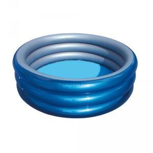 Bestway 51042 Planschbecken Big Metallic 3-Ring Pool 170 x 53 cm