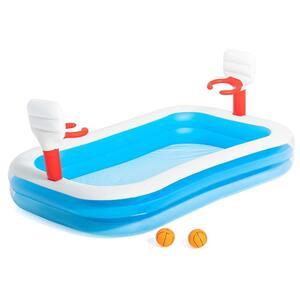 Bestway 54122 Planschbecken Pool für Kinder Basket BasketballHöhe (cm): 102, Breite (cm): 168, Zusammensetzung: Vinyl, Modelle: 54122, Länge (cm): 254