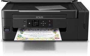 Epson EcoTank ET-2750 - Multifunktionsdrucker - Farbe - Tintenstrahl - A4/Legal (Medien) - bis zu 33 Seiten/Min. (Drucken) - 100 Blatt - USB, Wi-Fi